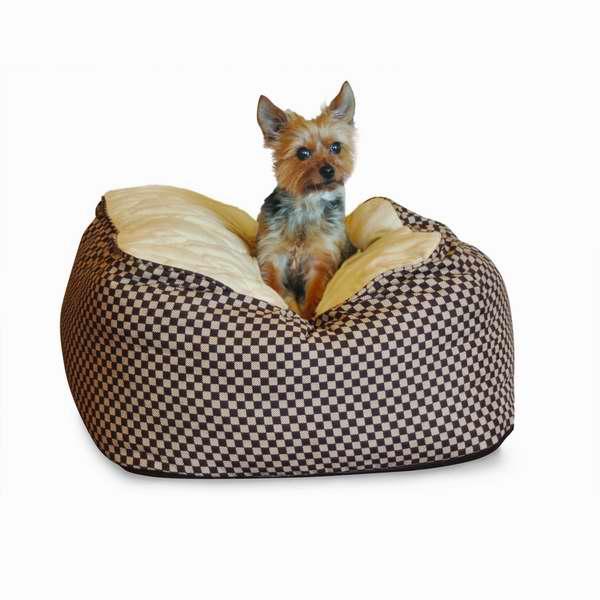 K&H Manufacturing 豪华大号方形猫狗宠物睡垫2.8折 23.21元限时特卖!