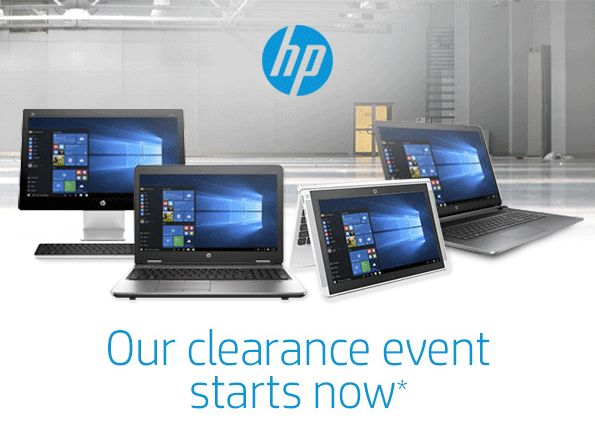 HP官网清仓特卖会现在开售!精选多款笔记本电脑、台式机、鼠标键盘等3.4折起特卖并包邮!