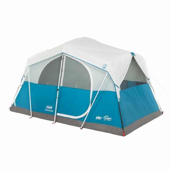 售价大降!历史新低!Coleman Echo Lake 6人带储物户外帐篷4.5折 144.93元限时特卖并包邮!