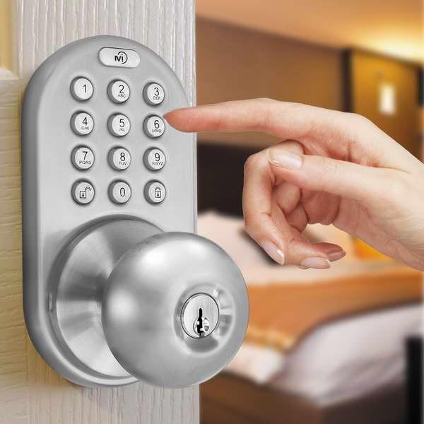 历史最低价!MiLocks DKK-02SN 电子密码门锁7.8折 69.99元限时特卖并包邮!