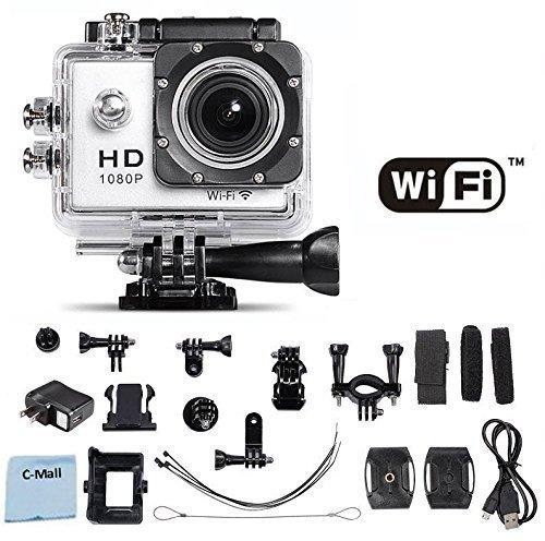 历史新低!C-Mall 12MP 1080P H.264 防水WiFi运动摄像镜头 39.99加元限量特卖,原价 259.99加元,包邮