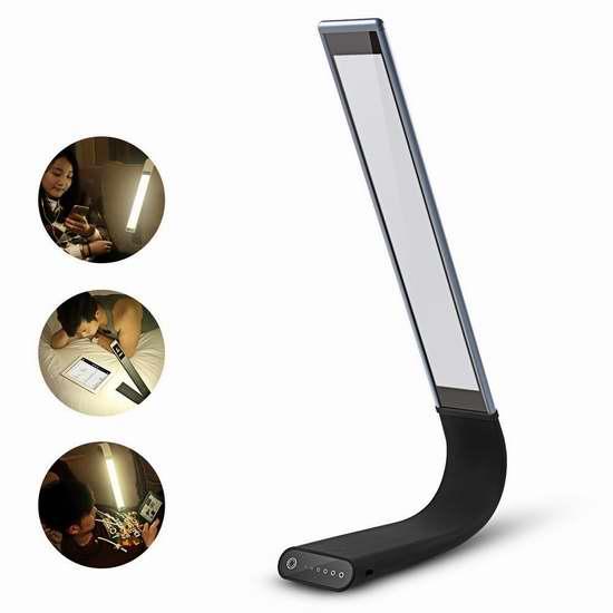 Dulcii 多功能月光触控护眼台灯8折 55.99元限量特卖并包邮!