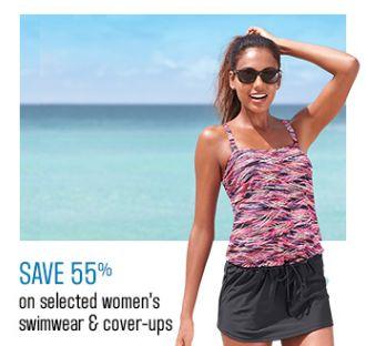 Sears精选155款女式泳装全部4.5折限时特卖!额外9折或立减10元!仅限今日!