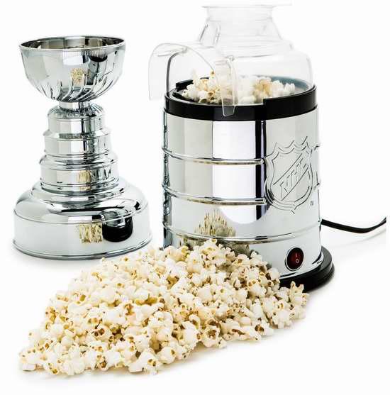 Pangea Brands 国家冰球联盟斯坦利冠军杯爆米花机2.3折 30元限时清仓并包邮!