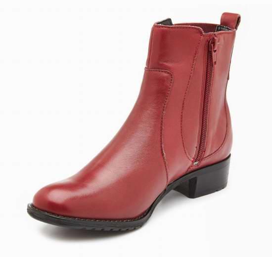 Hush Puppies Lana Chamber 女式经典切尔西真皮短靴2.8折 41.96元限时特卖!三色可选!