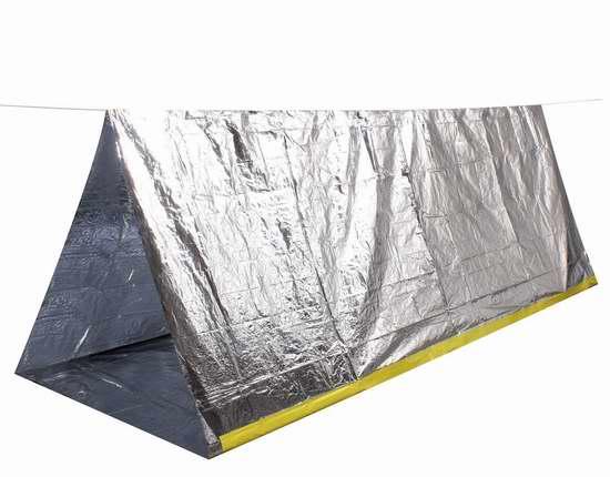 Level One 2.4米应急帐篷8.2折 12.29元限量特卖!