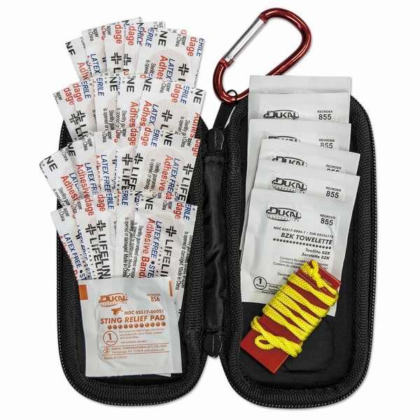历史最低价!Lifeline 便携式小号30件套医用急救包3.1折 9元限时特卖!