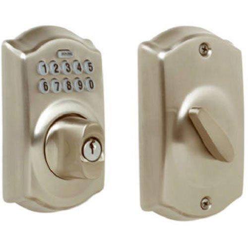 Schlage 西勒奇 BE365VCAM619 电子密码门锁6.2折 110.77元限时特卖并包邮!