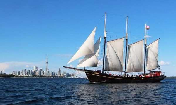 古帆船观光之旅!多伦多 Kajama 古帆船2小时观光单人票18加元限时特卖!