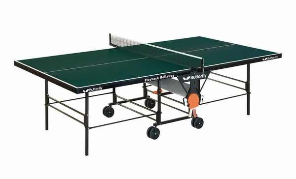 Butterfly 蝴蝶 TR26 可折叠移动乒乓球桌 592.64加元限时特卖并包邮!