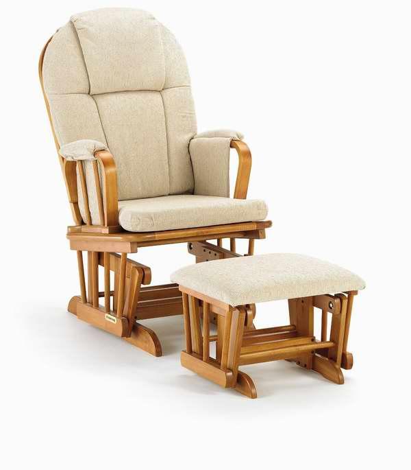 历史最低价!Shermag Glider 舒适软垫躺椅/妈妈椅/哺乳椅+脚踏套装 4.9折 159.76元限时特卖并包邮!