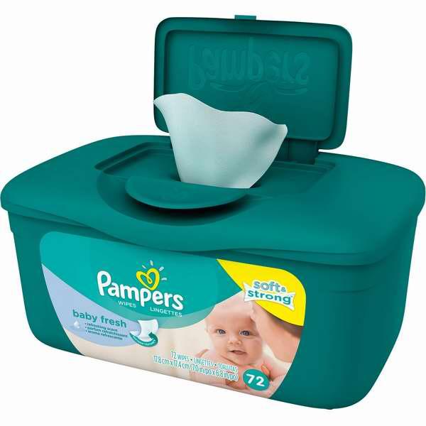 Shoppers Drug Mart 6月25日-30日免费购买一盒 Pampers 帮宝适72片婴儿湿巾纸!