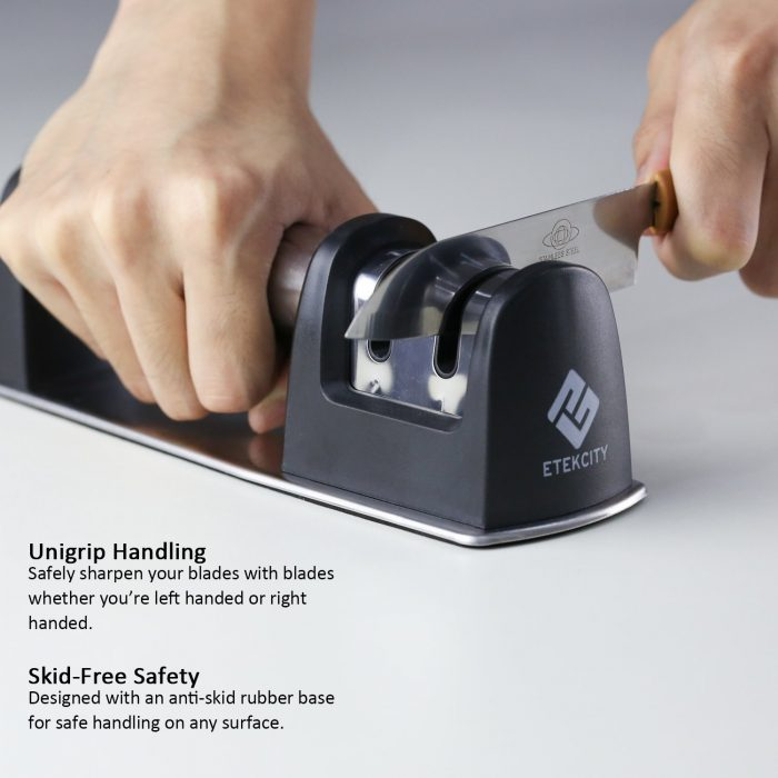 Etekcity 不锈钢磨刀神器 11.95加元,原价 39加元