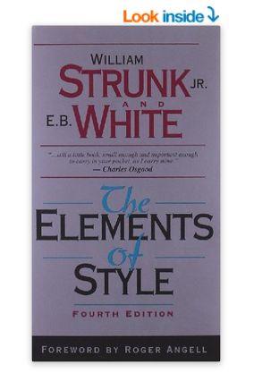 The Elements of Style 英语写作基本要素 (第四版) 10.71元特卖,原价 18.25元