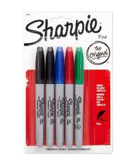 Sharpie FINE POINT 5支马克笔 3.97元特卖,原价 8.79元