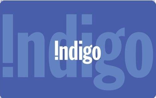 买75元  Indigo 礼品卡仅需 55元!
