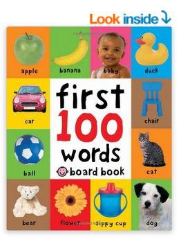 启蒙读物!First 100 Words 宝宝一百个单词 5.37加元特卖!