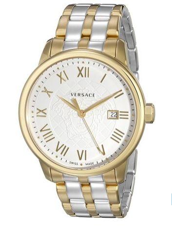 Versace 范思哲男士 VQS050015 双色镀金瑞士腕表 547.99元限量特卖,原价 1390.62元,包邮