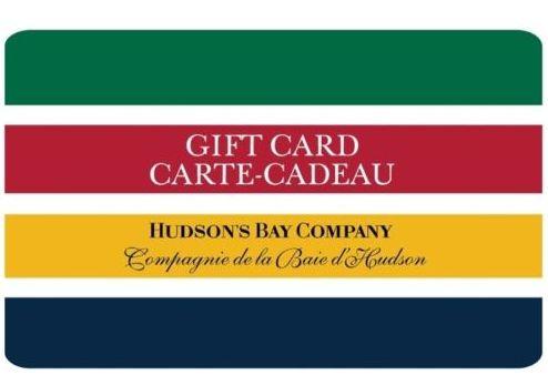 买75元 Hudson's Bay 礼品卡仅需 55元!今日西部时间下午5点/东部8点结束!
