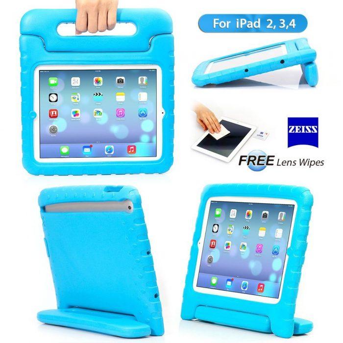 ACEGUARDER 苹果 iPad 2/3/4 保护套 14.99元特卖(多色可选),原价 18.99元