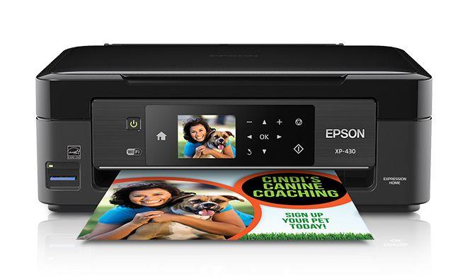 eBay金牌卖家促销, Epson Expression Home XP-430 无线多功能彩色喷墨一体打印机 59.99元特卖,原价 99.99元,包邮