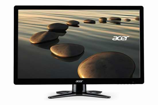 Acer 宏碁 21.5英寸全高清宽屏LED液晶显示器6.8折 99.99元限时特卖并包邮!
