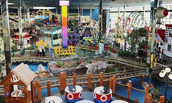 冬天游玩好去处!Fantasy Fair 安省最大室内儿童游乐场2-4人通票 36.5 -52.5加元!