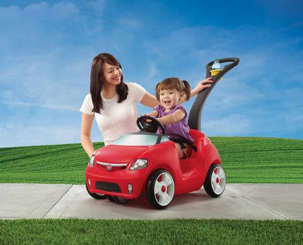 Step 2 E-Z Steer Sportster 婴幼儿小汽车/散步手推车6折 53.95元清仓!