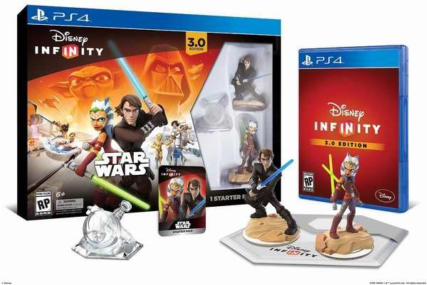 历史最低价!Disney Infinity 迪士尼无限 3.0 星球大战同捆版 PS4/Xbox One/Wii U 三平台游戏套装2.7折 19.99元限时清仓!