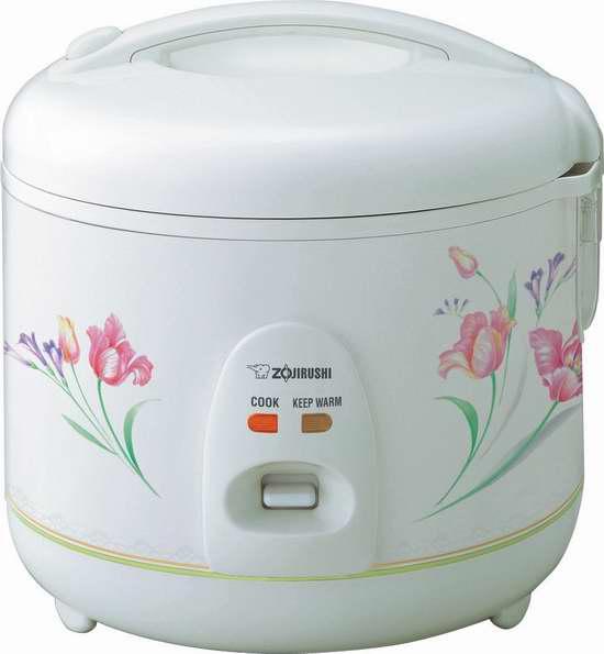 Zojirushi 象印 NSRNC10FZ 5.5杯量自动保温电饭煲4.6折 84.3元限时特卖并包邮!