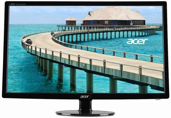 Acer 宏碁 S241HL Bmid 24英寸全高清宽屏液晶显示器 149.99加元限时特卖并包邮!