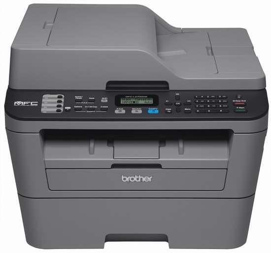 Brother MFCL2700DW 多功能黑白激光打印一体机(自动双面打印/复印/扫描/传真/无线)5.1折 124.99元限时特卖并包邮!