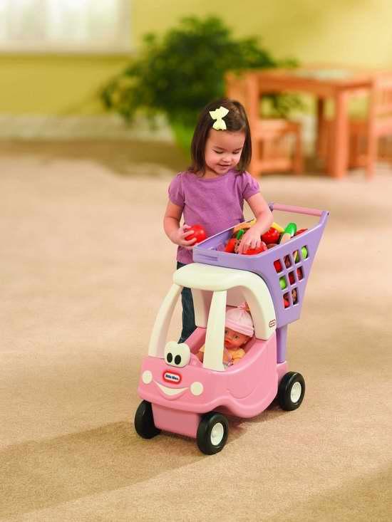 历史最低价!Little Tikes 粉红小公主玩具购物车3.6折 18加元限时特卖!