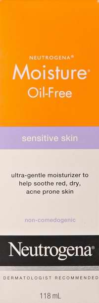 Neutrogena 露得清 敏感肌肤 水滋润保湿乳118毫升5折 6.5元限时特卖并包邮!
