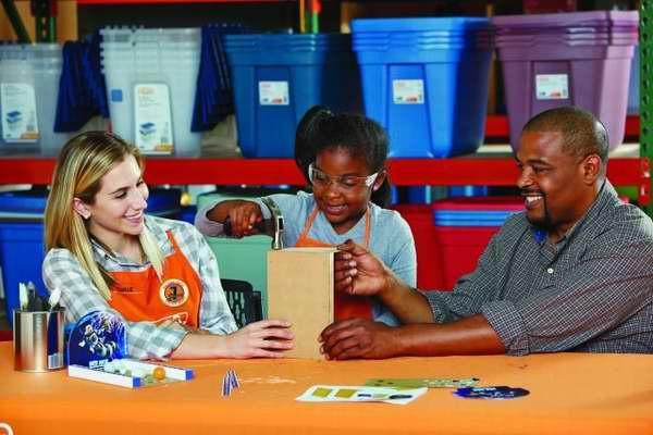 Home Depot 7月9日免费儿童手工课,制作冰川时代保龄球道,7月另有3个家庭装修免费课程