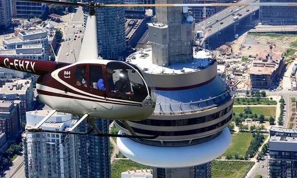 Toronto Heli Tours 直升机之旅1-3人机票4.8折 62-180加元!