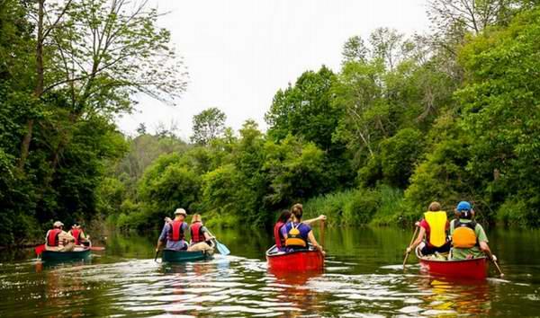 丛林泛舟探险!多伦多 Humber 汉波河2小时独木舟探险 39.95加元起限时特卖!