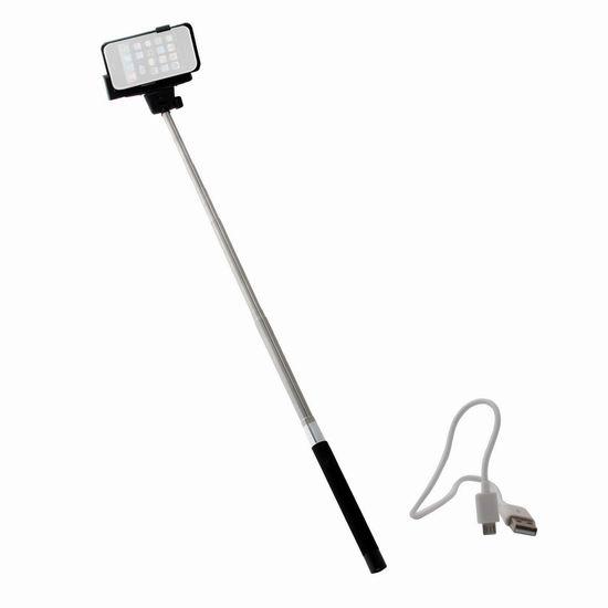 Nifty iPhone 无线蓝牙自拍杆0.9折 5.88元限时清仓!