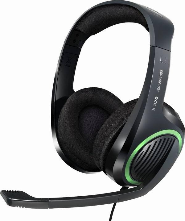 历史新低!Sennheiser X320 游戏耳机(Xbox360或PC电脑)1.5折 23.15元限时清仓!