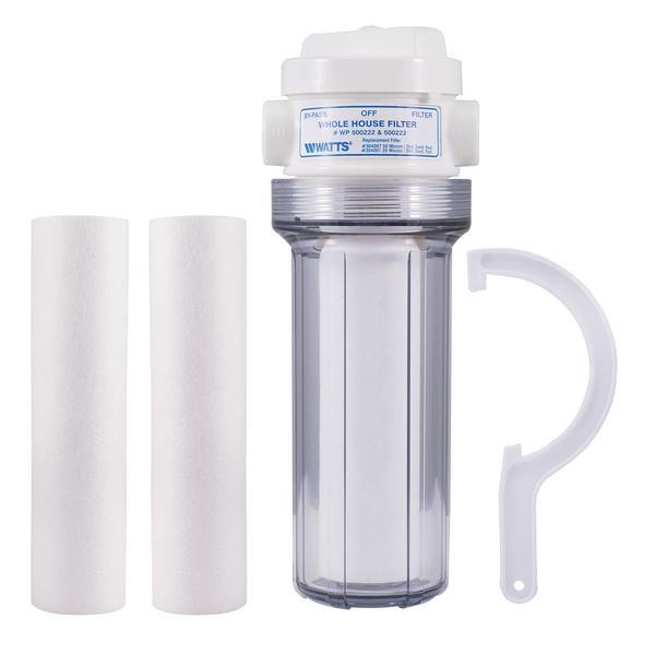 历史最低价!Watts WH-LD Premier 全屋水过滤系统7折 36.99元限时特卖并包邮!