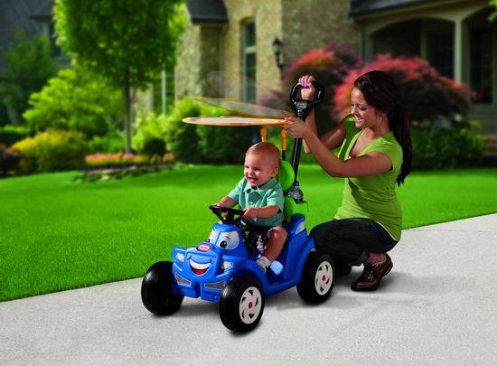 Little Tikes 小泰克 豪华二合一儿童舒适敞篷小跑车5折 44.97加元包邮!