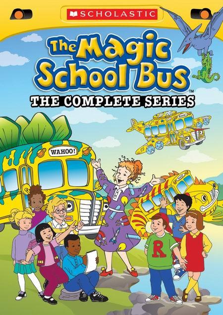 科普动画《The Magic School Bus 神奇校车/神奇校巴》DVD全集3.1折 25元限时特卖并包邮!