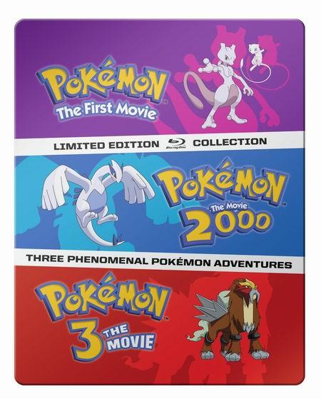 历史新低!《Pokemon 1-3》电影合集 Blu-ray 蓝光影碟版4.5折 19.99加元!