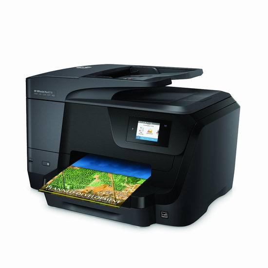 历史最低价!HP 惠普 OfficeJet Pro 8710 多功能一体专业喷墨打印机3.5折 79.65加元限时特卖并包邮!