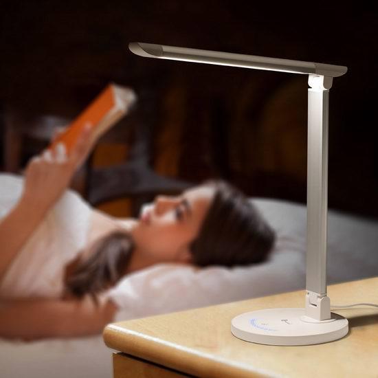 TaoTronics TT-DL13可调亮度LED护眼台灯2.4折 33.14加元限量特卖并包邮!