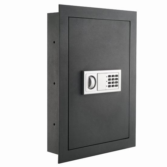 接近史低价!Paragon 7725 Flat Superior 入墙式电子密码保险箱 87.22加元限时特卖并包邮!