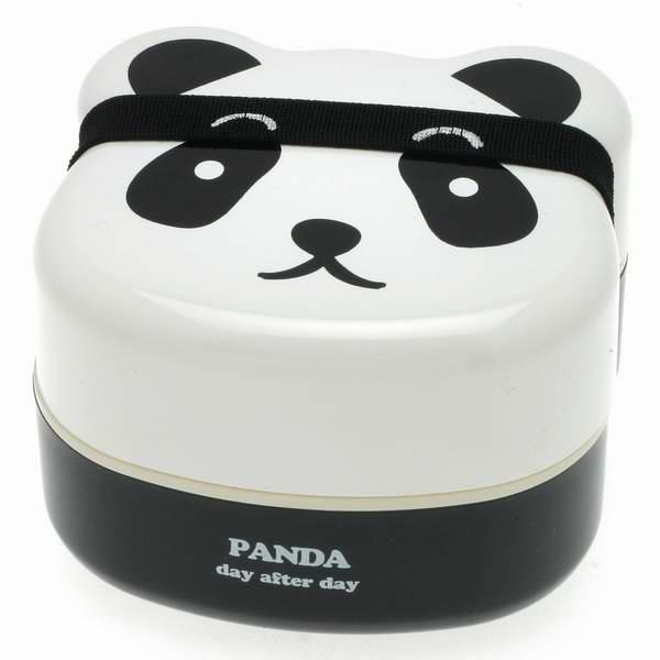 Kotobuki 280-129 可爱熊猫儿童双层饭盒/日式便当盒7折 22.6元限时特卖!