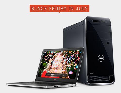 Dell 七月黑色星期五特卖,精选多款笔记本电脑、台式机、数码产品等特价销售并包邮!