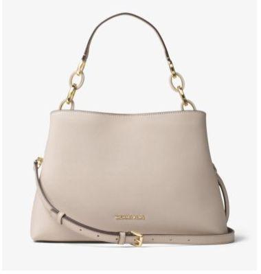 Michael Kors Portia 女款手提包/单肩包 222.88元特卖(2色可选),原价 398元,包邮