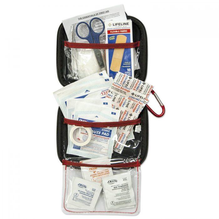 历史最低价!Lifeline 便携式小号53件套医用急救包 16元特卖,原价 32元